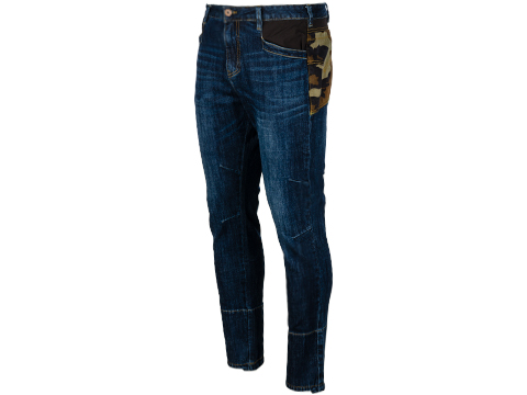 EmersonGear Blue Label Tactical Denim Jeans (Color: Blue / Woodland / Size 30)