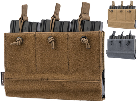 EmersonGear Triple Magazine Insert for Plate Carriers (Color: Coyote Brown)