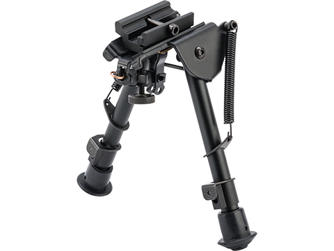 Matrix 6 Retractable Harris Type Bipod w/ Swivel Lock and RIS Adapter