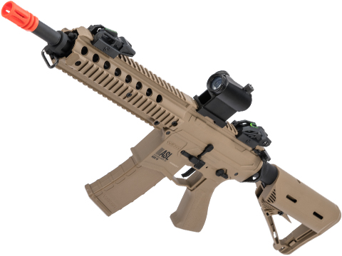 Battle Machine M4 Mod-M CQB V2 Airsoft AEG Rifle by Valken (Color: Desert)