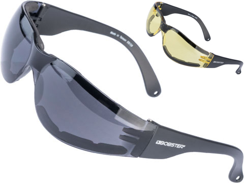 Bobster SHIELD III ANSI Z87 Anti-Fog Shooting Sunglasses
