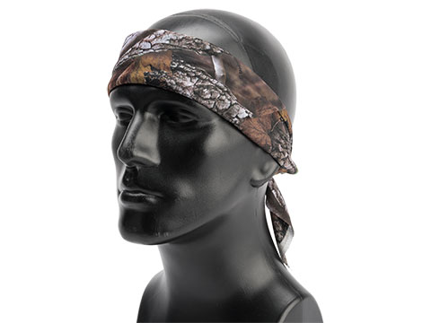 Zan Headgear 100% Cotton Bandana (Color: Forest Camo)