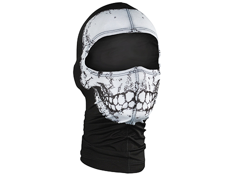 Bobster / Zan Headgear Nylon Balaclava (Color: Skull)