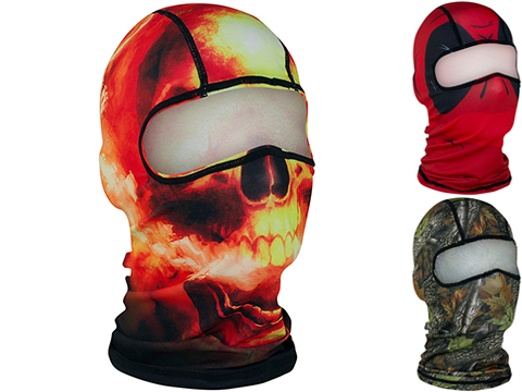 Zan Headgear Ultra Light Weight Polyester Balaclava