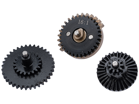 ZCI CNC Steel 16:1 Gear Set for Airsoft AEG Gearboxes