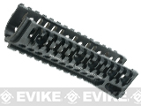 Zenimei CNC Aluminum B-10M Tactical Railed Handguard for AK AEG / GBB Rifles - Black