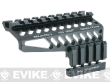 Zenimei CNC Aluminum B-12 Rail Mount for AK Series AEG / GBB Rifles - Black