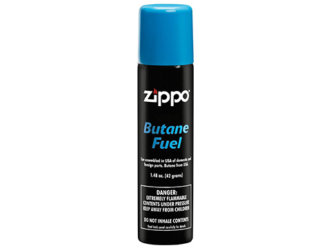 Zippo 1.48oz Butane Fuel for Lighters