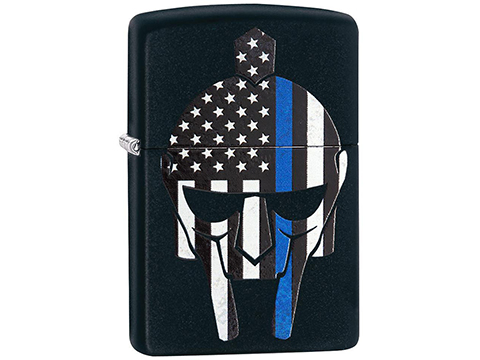 Zippo Classic Lighter Patriotic Series (Model: Gladiator Blue Line)