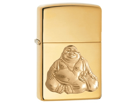 Zippo Classic Lighter (Model: Laughing Buddha)