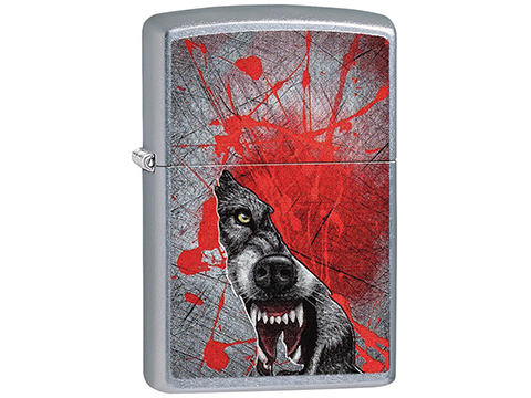 Zippo Classic Lighter Wild Series (Model: Bloody Wolf)