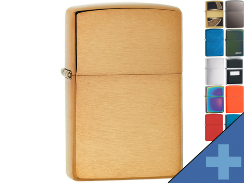 Zippo Classic Lighter Solid Color Series