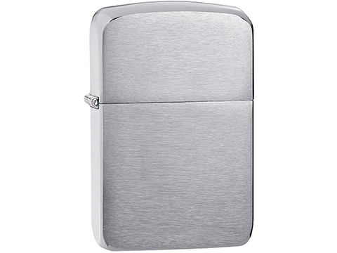 Zippo 1941 Replica Lighter (Model: Brushed Chrome)