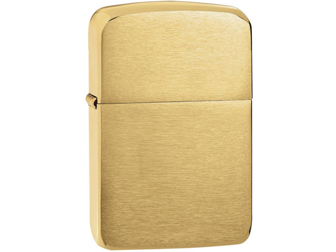 Zippo 1941 Replica Lighter (Model: Brushed Brass)