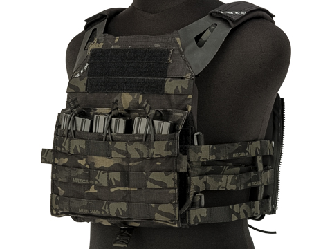 Crye Precision Licensed Replica JPC 2.0 Plate Carrier by ZShot (Color: Multicam Black / Large)
