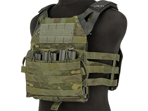 ZShot Crye Precision Licensed Replica JPC 2.0 Plate Carrier (Color: Multicam Tropic / Large)