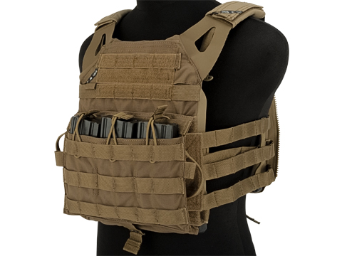 Crye Precision Licensed Replica JPC 2.0 Plate Carrier by ZShot (Color: Coyote Brown / Medium)