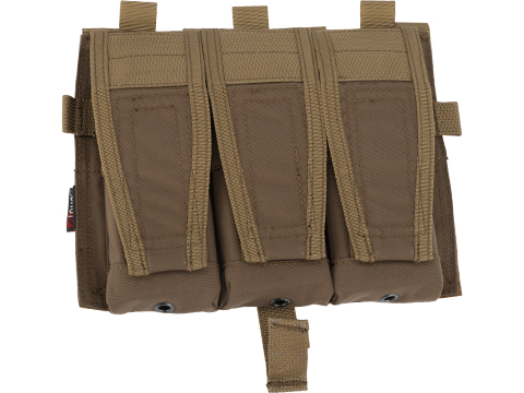 ZShot Crye Precision Licensed Replica AVS 5.56 Smart Pouch Front Flap (Color: Coyote Brown)
