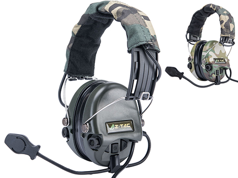 Matrix Type-E Tactical Communications Headset w/ Noise Cancelling System