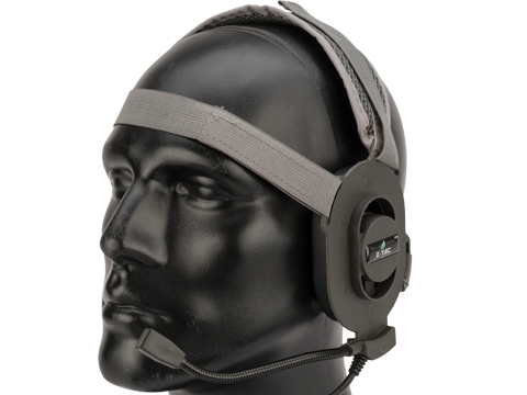 Matrix / Element Military Style Tactical Communications Headset Type-A (Color: Foliage Green)