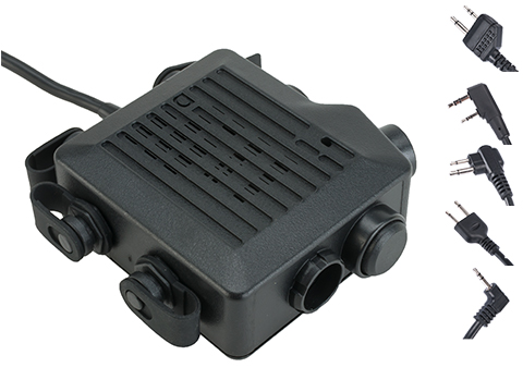 Z-Tactical TACMIC CT5 Intercom Radio PTT -