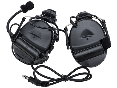 Element Z031 Military Style Noise Canceling Headset for FAST Helmets