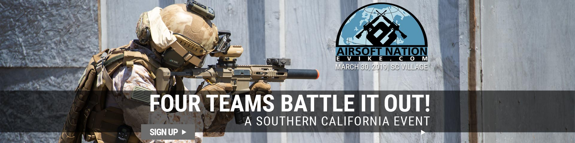 Airsoft Nation Event in Southern California