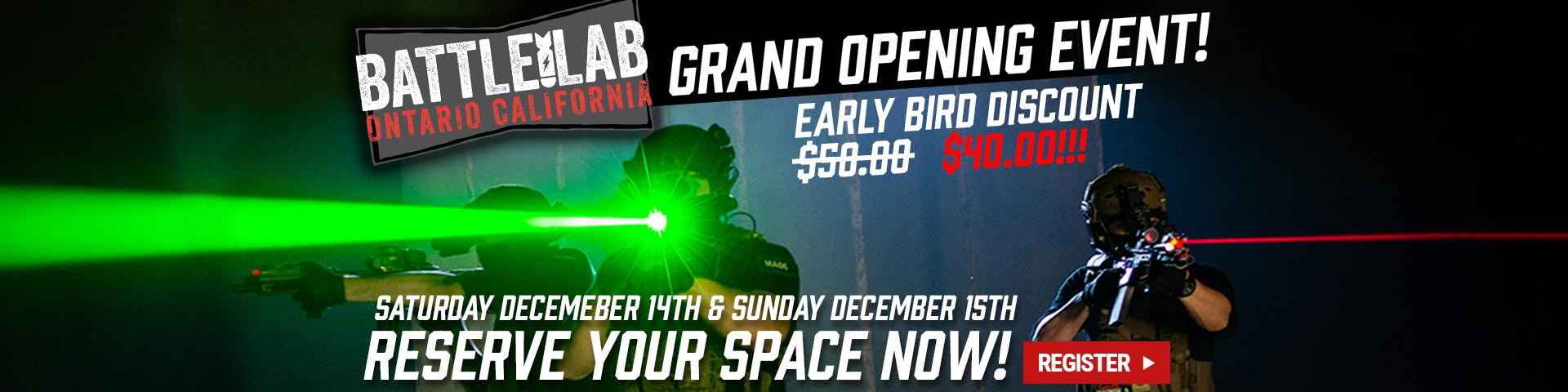 Battle Lab Grand Opening
