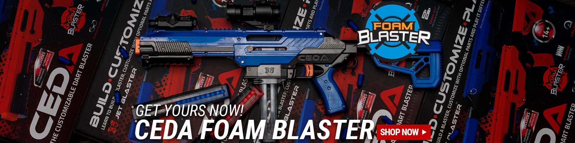 Featured: CEDA Foam Blasters