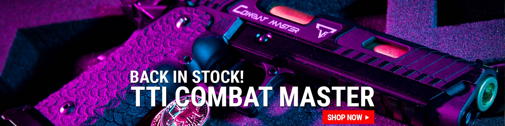 TTI Combat Master Back in Stock